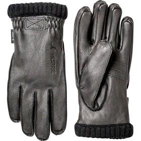 Hestra Deerskin Primaloft Rib Gloves Herre black